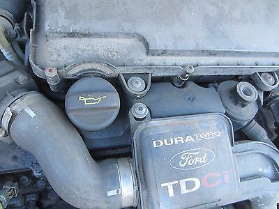Ford Fusion 2 2003 1.4 Tdci 8V Silver Zjn Breaking Rocker Cover Only