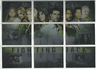 """2007 Lost: Season 3 FIGHTING BACK """"Complete Set"""" of 9 Chase Cards (FB1-FB9)"""