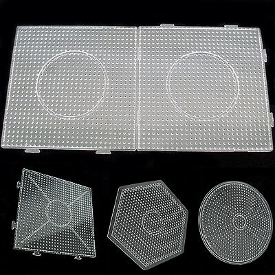 NT Large Pegboards for Perler Bead / Hama Fuse Beads Clear Square Design Board