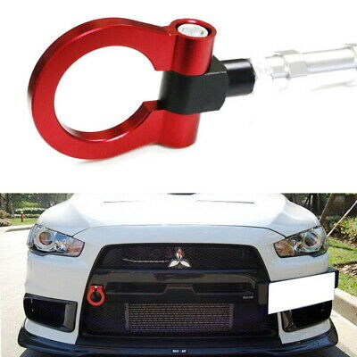 Track Racing Style Aluminum Tow Hook For Mitsubishi Lancer Evolution Evo X 10