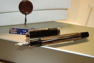 Pelikan Souverän® M400 Tortoiseshell-Brown - Fountain pen