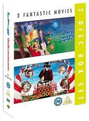 Willy Wonka and The.../Charlie and the Chocolate Factory - DVD Region 2 Free Shi