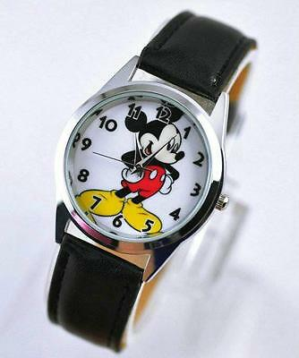 Disney Mickey Mouse Child Girl Boy Watch Wrist Xmas Fashion YMQ
