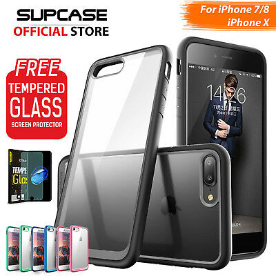 iPhone X, 8/7, 7/8 Plus Cover, SUPCASE/YOUMAKE Ultra Thin Premium Case For Apple