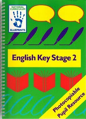 English: Key Stage 2 (Blueprints) by Whiteford, Rhona Spiral bound Book The