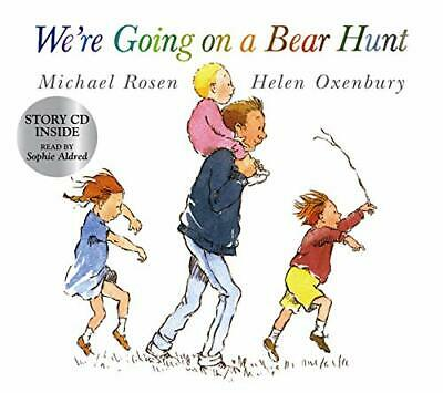 We're Going on a Bear Hunt (Book & CD) by Rosen, Michael Mixed media product The