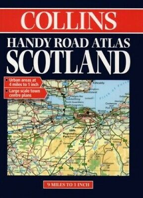 Collins Handy Scotland Road Atlas Paperback Book The Cheap Fast Free Post