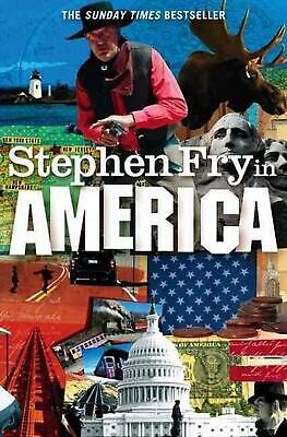 Stephen Fry in America by Stephen Fry (English) Paperback Book Free Shipping!