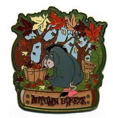 EEYORE SEASONAL Series AUTUMN BREEZE FALL Trees OLDER LE 5000 WDW DISNEY PIN