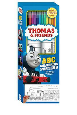 Thomas and Friends ABC Colouring Posters Free Shipping!