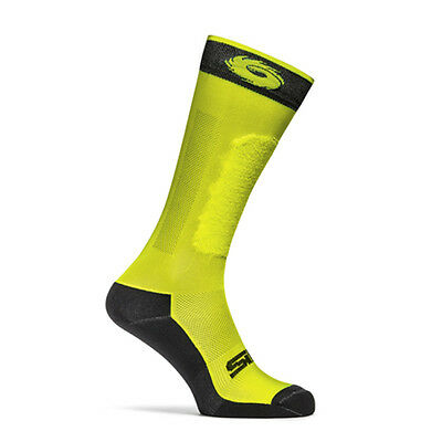 Sidi GP Yellow Fluo Moto Motorcycle Motorbike Casual Socks | All Sizes