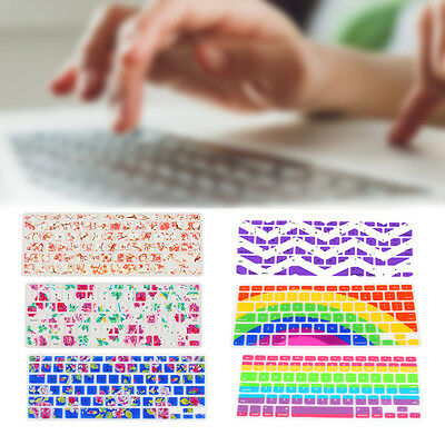 """Silicone Decal Protector Keyboard Keypad Cover Skin For Laptop 13"""" 15"""" 17"""""""