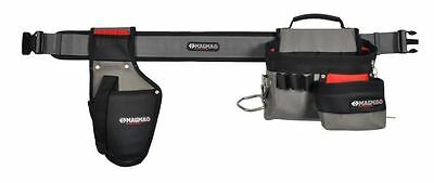 CK Magma Professional Tool Belt Apron Set with Drill Holster Electricians Pouch