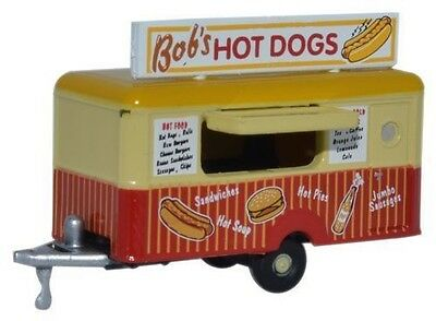 Oxford  1:148   NTRAIL001 Mobile Trailer Bobs Hot Dogs spur n suberb detail