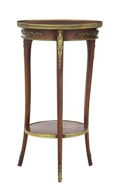 19Th Century French Mahogany And Brass Occasional Table