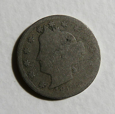1884 Liberty Nickel * US * Key Date Coin