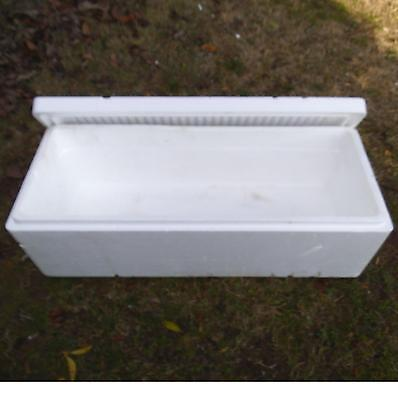 Extra Long Styrofoam Insulated Shipping Cooler Container 34 x 13.5 x 11 OD