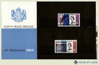 1964 Forth Road Bridge Stamps in Presentation Pack PP4 - Royal Mail Stamps