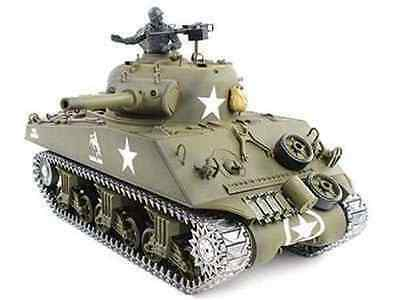 U.S.M4A3 SHERMAN R&S/2.4GHZ Metallketten/Metallgetriebe/QC