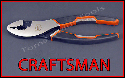 "CRAFTSMAN HAND TOOLS 6-3/4"" Slip Joint pliers  (MADE IN USA)!! (FREE SHIPPING)"