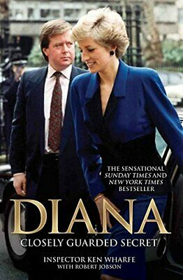 Diana: Closely Guarded Secret by Robert Jobson Book The Cheap Fast Free Post