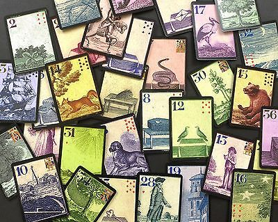 The Antiquity Lenormand Fortune Telling Oracle Cards Deck Non Tarot