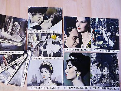 VENUS IMPERIALE !  Gina LOLLOBRIGIDA  jeu 12 photos cinema lobby cards