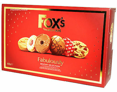 Box Of Fox's Fabulousy Biscuit Selection 600g  Foxes
