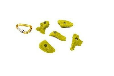 ETCH Limestone Set A Climbing Hold, Yellow