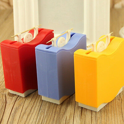Funny Automatic Toothpicks Holder Man Hercules Toothpick Dispenser for Home