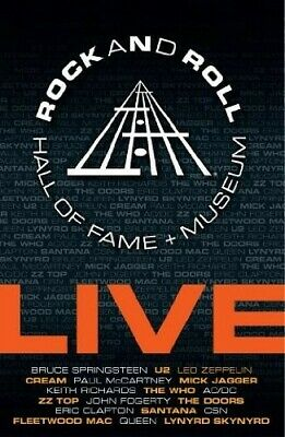 Rock and Roll Hall of Fame + Museum: Live [3 Discs] (2009, DVD NEW)