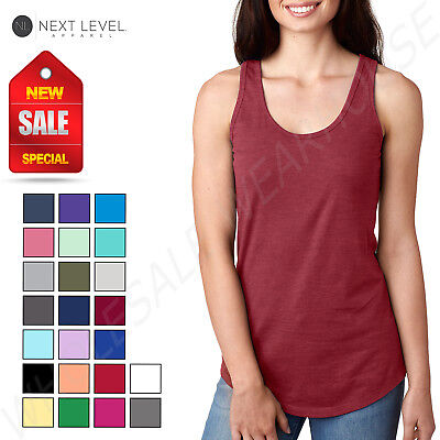 Next Level Women's Ideal Racerback Premium Quality Tank Top M-N1533