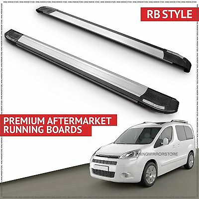 Running Boards Side Steps (RB) for Citroen Berlingo VAN 2008-2014