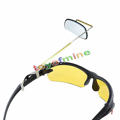 Bike Bicycle Cycling Riding Mirror Helmet Rearview Rear View Eyeglass Safety