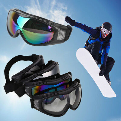 Anti-fog UV Wind Dual Snow Lens Winter Sports Snowboard Ski Goggle Sunglasses