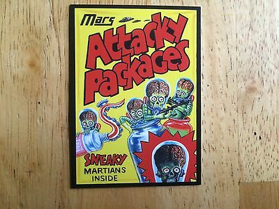 2016 Topps Mars Attacks Occupation Wacky Packages Sub-Set Card Attacky Packages