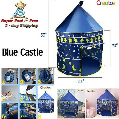 Fairy Princess Castle Play Tent Indoor Playground For Kids Play Tents For Girls
