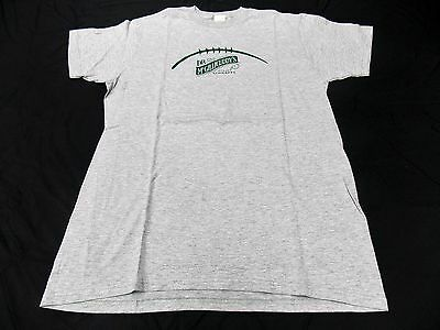NOS Dr McGillicuddy's Intense Schnapps Football Seam  T Shirt Promo NEW Doctor