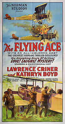 The Flying Ace 1926 Original USA Three Sheet Movie Poster