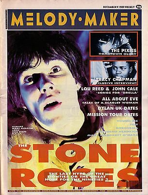 Home Wall Print - Retro Magazine Poster - MELODY MAKER STONE ROSES - A4,A3,A2,A1
