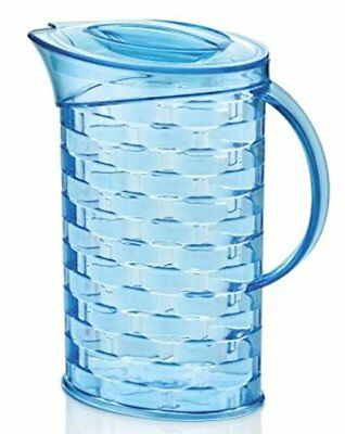 2 Litre Multi Purpose Picnic Water Juice Plastic Jug Pitcher with Lid