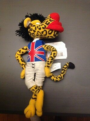 Famous Meanies - MICK JAGUAR (Spoof on Mick Jagger) Bean Bag Plush Toy Doll NWT