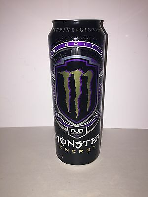 Monster Energy Drink Dub Edition 18.6oz Rare Discontinued Can