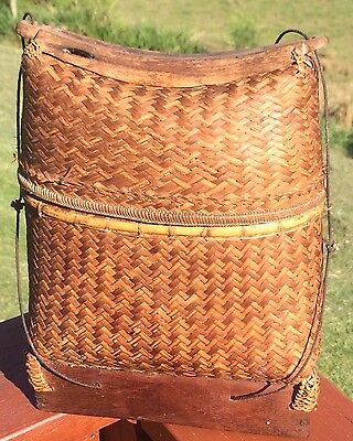 ANTIQUE Basket Lombok Island Indonesia Sasak People