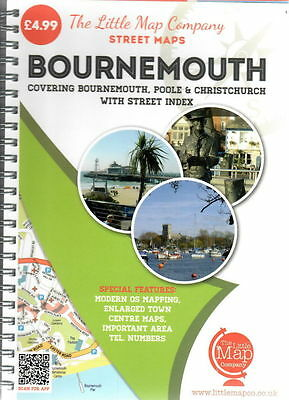 Bournemouth Street Maps Poole Christchurch with street index