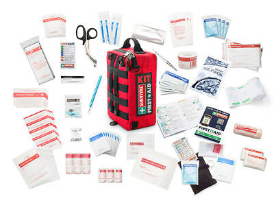 SURVIVAL Workplace First Aid Kit - Home, Car, Work, Construction, 4WD, Travel