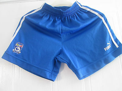 Cardiff City 2003-2004 Home Football Shorts Size Small Adult /bi