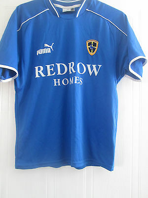 Cardiff City 2003-2004 Home Football Shirt Size Small Adult /bi