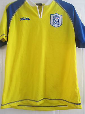 Cardiff City 2001-2002 Away Football Shirt Size Medium Adult /40705
