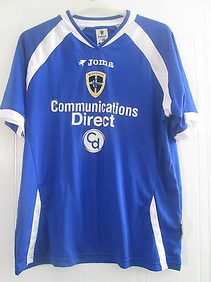 Cardiff City 2005-2006 Home Football Shirt Size Medium Adult /40710